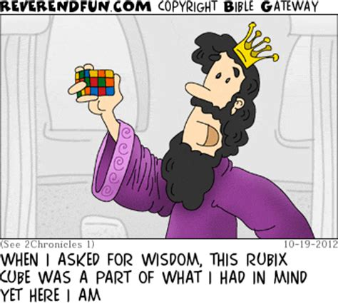 "reverendfun.com : cartoon for oct 19, 2012: ""wisdom"""