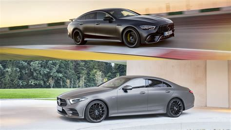 4 Door Coupe by Mercedes Amg Gt 4 Door Coupe Vs Mercedes Cls Here S What