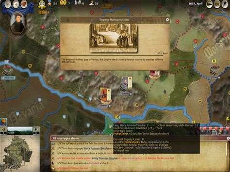 armchair general magazine thirty years war pc game review armchair general armchair general magazine