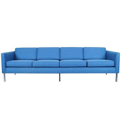 mid century modern sofa for sale mid century modern chrome sofa for sale at 1stdibs