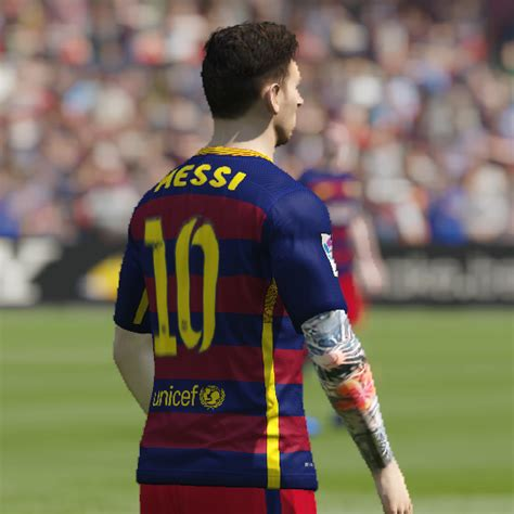 tattoo messi fifa leo messi tattoo v1 fifa 15 at moddingway