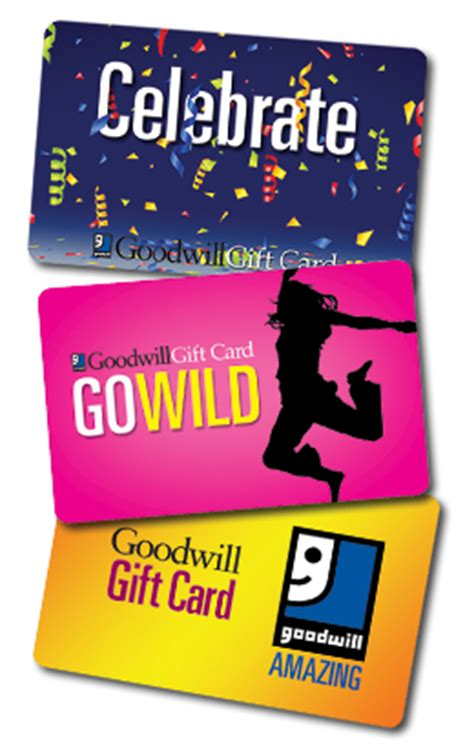 Goodwill Gift Card - purchase goodwill gift cards to support the goodwill mission