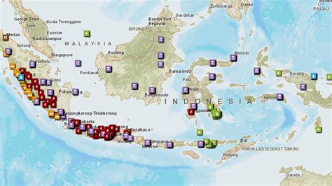 where is indonesia on the world map indonesia home