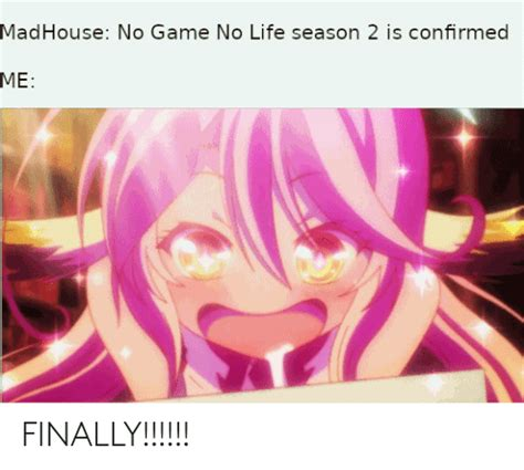 madhouse  game  life season   confirmed  finally