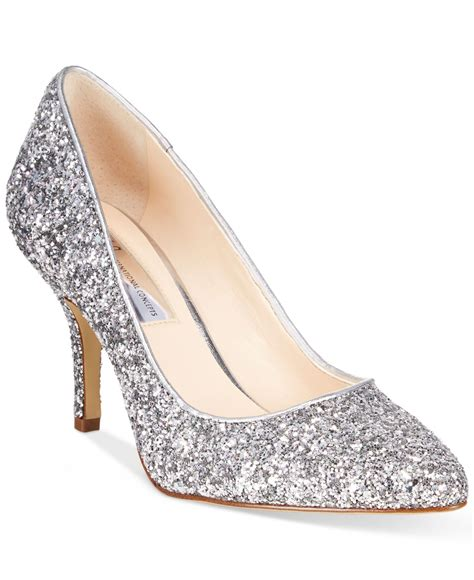 silver glitter high heel pumps silver heels ha heel