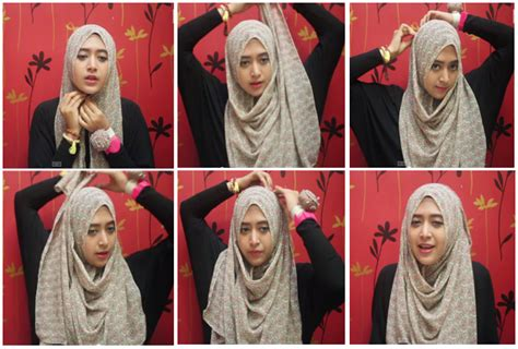 tutorial hijab pegawai bank 5 tutorial hijab pashmina simple terbaru 2015 indo fashion