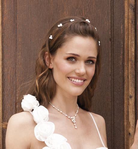 Brautfrisur Einfach by Einfache Brautfrisur