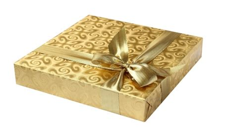 gift box gold ribbon  stock photo public domain pictures