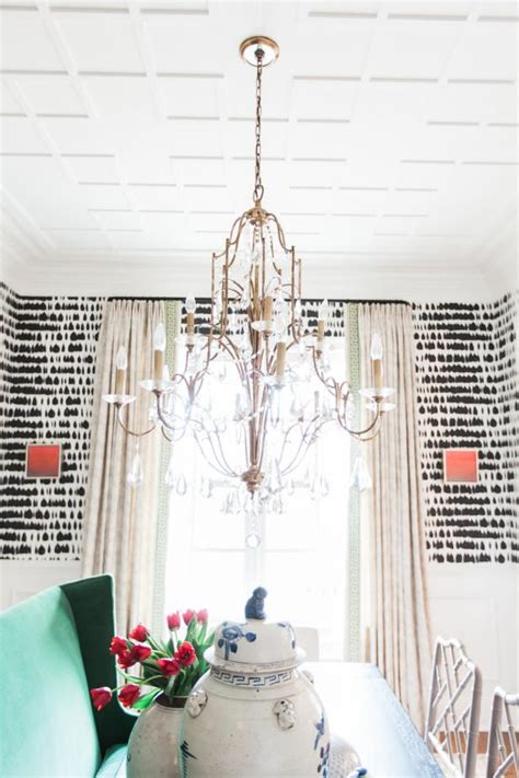 white eclectic dining room  chandelier hgtv