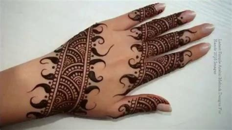 arabic henna design easy easy arabic mehndi designs latest mehandi designs