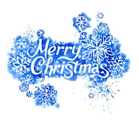vector watercolor merry christmas  stock vector freeimagescom