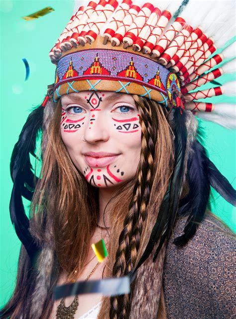 Karneval Schminken Indianer by Festival Schminktipps Maskworld