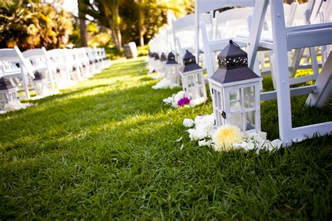 Wedding Aisle Decorations With Lanterns by Colourful Zoo Wedding By Jihan Abdalla Photography