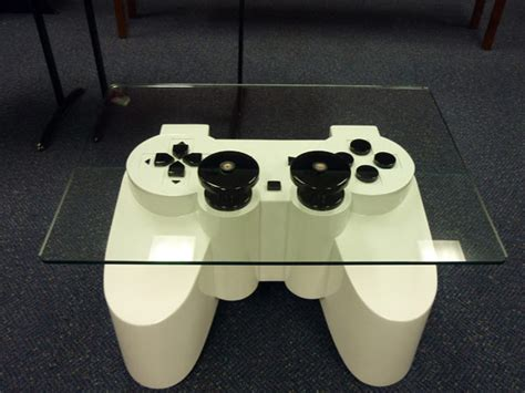 Controller Coffee Table Joysticks Shaped Luxury Table