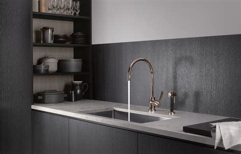 Bathroom And Kitchen Fixtures Gold Design Faucets And Accessories For Bathroom And Kitchen By Dornbracht