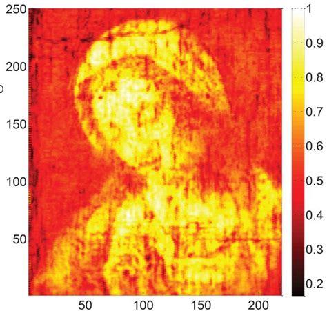 false color image imaging technique unlocks the secrets of 17th century artists