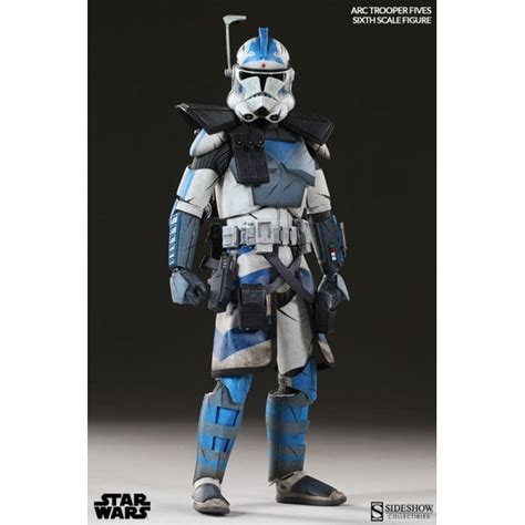 clone trooper wall display armor star wars arc clone trooper fives phase ii armor sixth