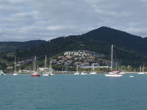 boat mooring airlie beach photo of airlie beach afloat free australian stock images