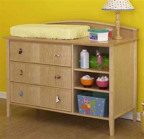 bedroom set plans woodworking double duty changing table dresser woodworking plan from