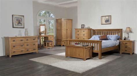 Canterbury Oak Bedroom Furniture Canterbury Oak High End Bed Bedroom Deal
