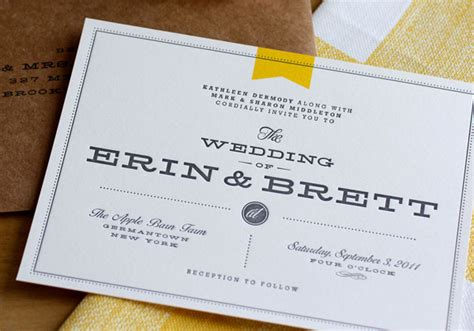 Wedding Invitation Modern mid century modern archives invitation crush