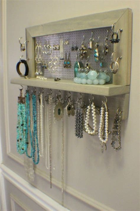 how to make a jewelry hanger 25 best ideas about diy jewelry holder on diy