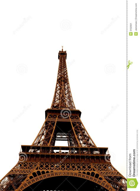 eiffel tower color eiffel tower in single color stock image image 3102001