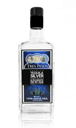 100 Agave Silver Tequila Brands - tres pesos silver tequila reviews and ratings proof66