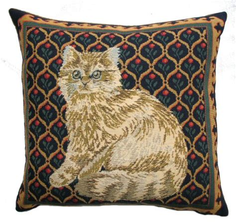 cat tapestry cushion a bentley cushions