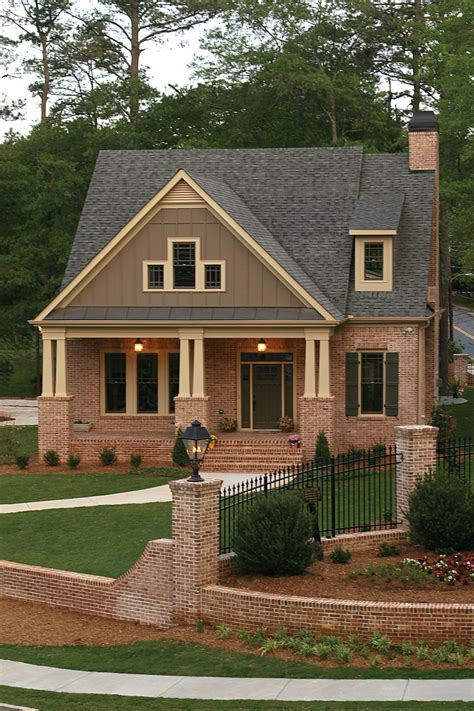 craftsman style home plans with porch cottage house plans