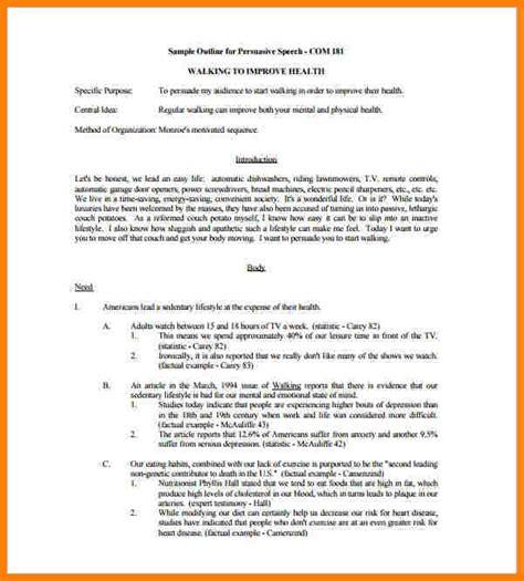informative letter format 12 informative speech outline template letter format for