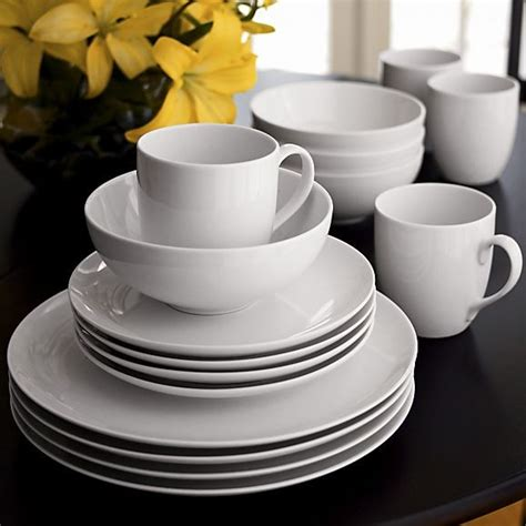 plates dishes essential dinnerware traditional dinnerware by crate