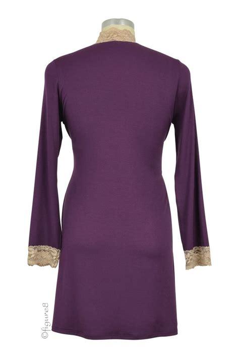 Jepitan Baju Jb1 Set Of 20 Pcs baju 3 pc modal lace sleeveless nursing pj robe set in eggplant lace