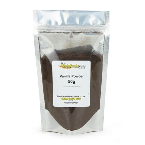 Bengkoang Extract Powder 50g vanilla powder 50g buy whole foods