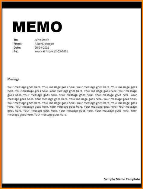 office letter templates image gallery word memo