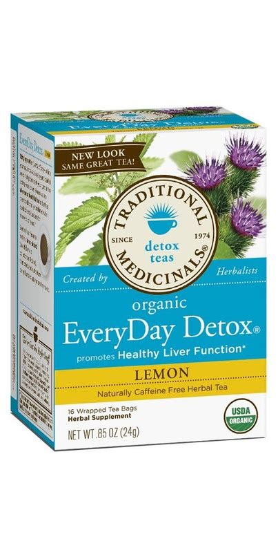 Traditional Medicinals Detox Tea Lemon by Buy Traditional Medicinals Organic Lemon Everyday Detox