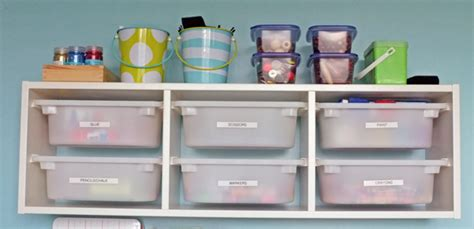 arts and crafts storage for arts and craft storage center