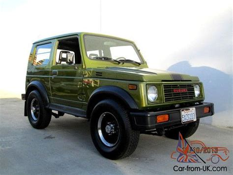 jeep samurai for sale 1986 suzuki samurai 4x4 hardtop quot mini hummer quot jeep award