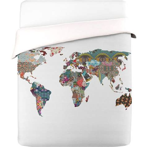 world map duvet cover for my future mansion pinterest