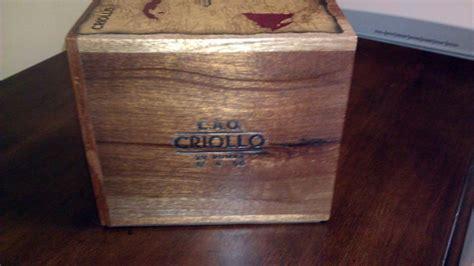 Cigar Box Drawers by Sold Cao Criollo Four Drawer Box Cigar Box Pen Storage