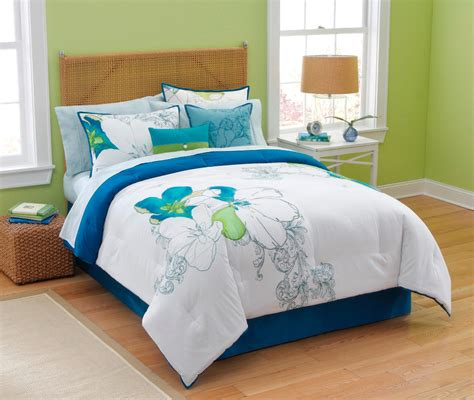 smith abstract floral comforter set