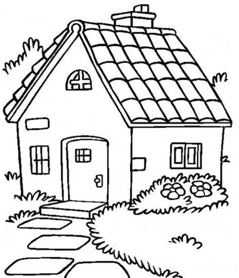 imagenes para pintar la casa dibujos de casas con chimenea para colorear concepto