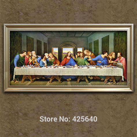 Lukisan Asli Kanvas Dekorasi Dinding Lukisan Rumah Kantor Murah Ld4512 dekorasi rumah jesus lukisan perjamuan terakhir dari jesus lukisan cetak di atas kanvas