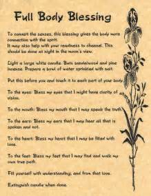 wicca book of spells a book of shadows for wiccans witches and other practitioners of magic books details about blessing book of shadows page