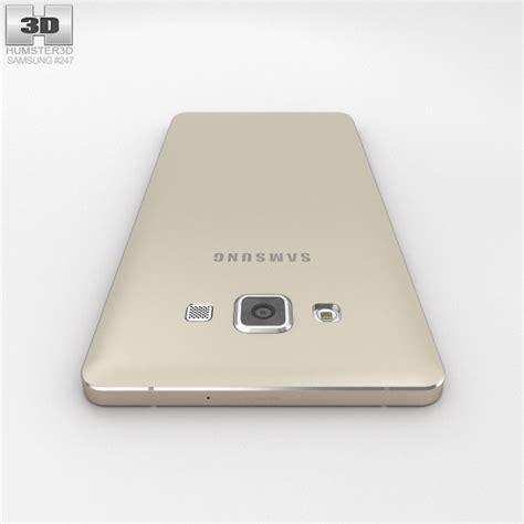 Samsung A7 Gold samsung galaxy a7 chagne gold 3d model humster3d
