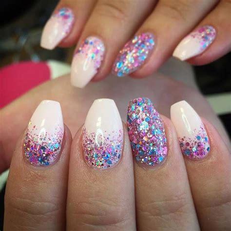 Manicure Glitter Nail