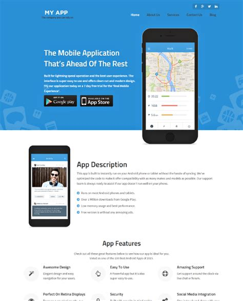 buy mobile app templates buy mobile app theme website template 2018