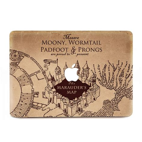 Decal Harry Potter Apple the marauders map harry potter macbook skin decal