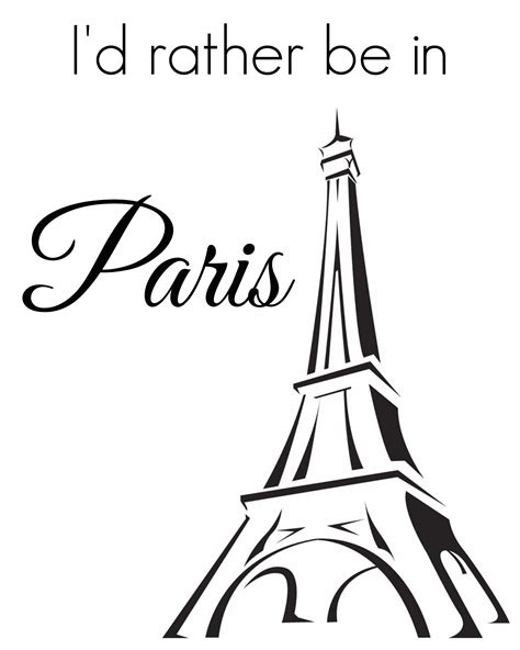 printable paris pictures french themed printable art girl in the garage 174
