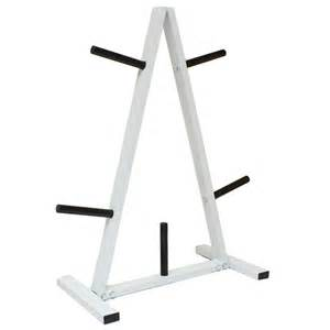 1 quot standard weight barbell disc stand tree plate